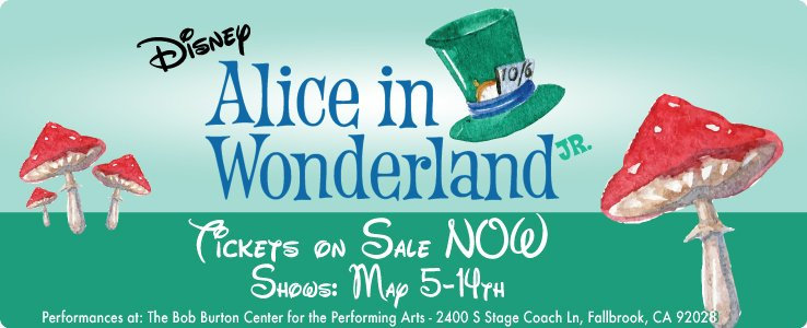 Alice in Wonderland CYT Riverside