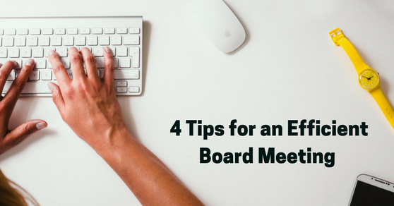 Make the Most of Board Meetings
