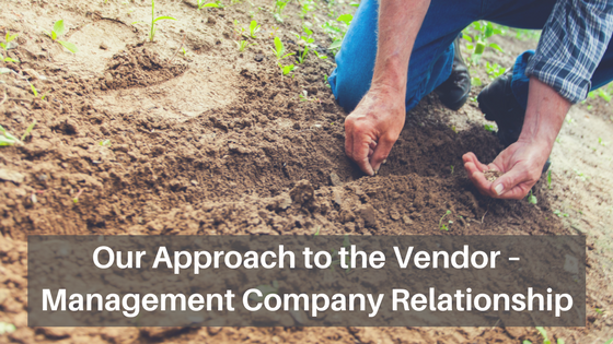 Understanding the Vendor-Management Company Relationship