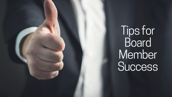 Tips for Board Member Success